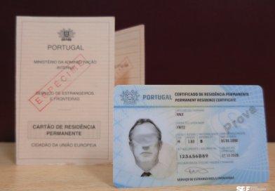 Neues Format der Aufenthaltsgenehmigung des SEF