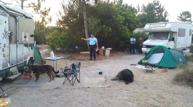 Illegales Campen