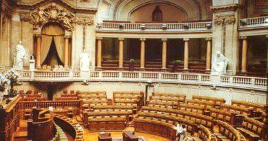 Parlament in Lissabon