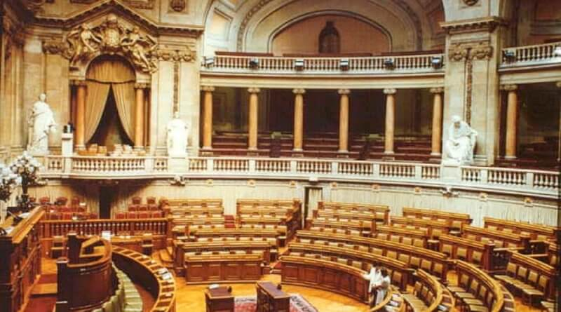 Parlament in Lissabon