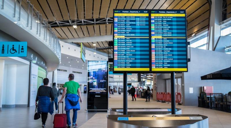 Abflug Terminal Flughafen Faro