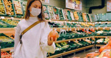 Einkauf nur mit Maske