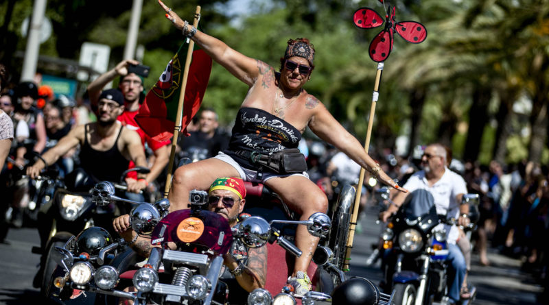 Motorradtreffen Faro