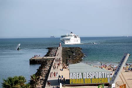 Ankunft in Portimao