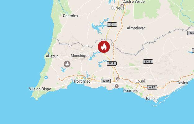 Neue Brände an der Algarve
