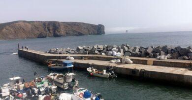 Hafen von Arrifana