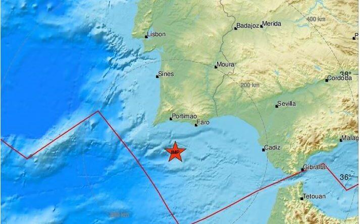 Erdbeben mit Epizentrum südlich von Carvoeiro war an der Algarve zu spüren