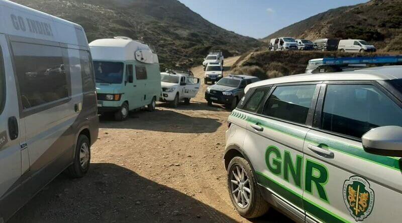 GNR vs illegale Camper