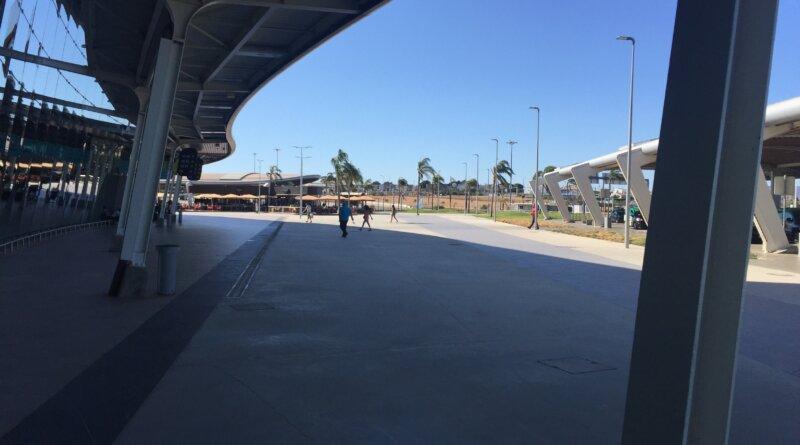 Flughafen Faro leer