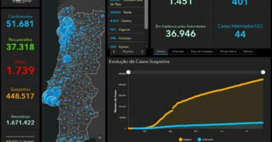 05.08.20 – aktuelle Daten zu Corona in Portugal