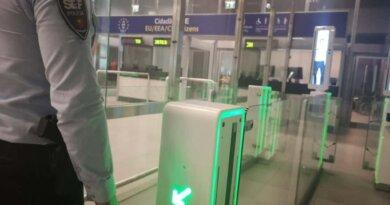 E-Gates am Flughafen