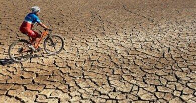 Dürre im Stausee