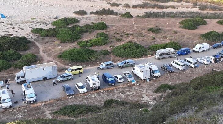 Illegale Camper