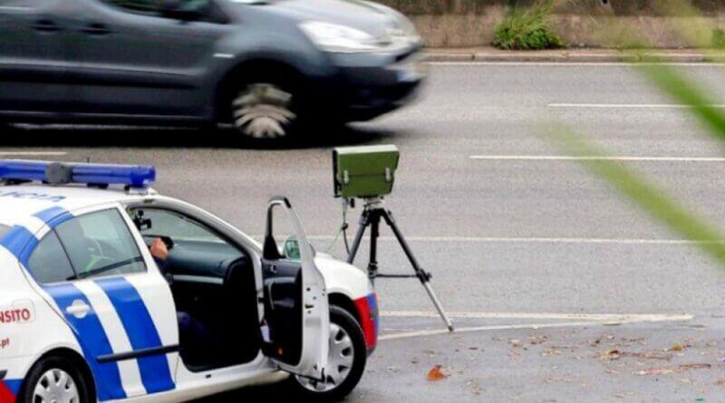 Radarkontrolle der PSP