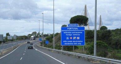 Grenze Portugal Spanien