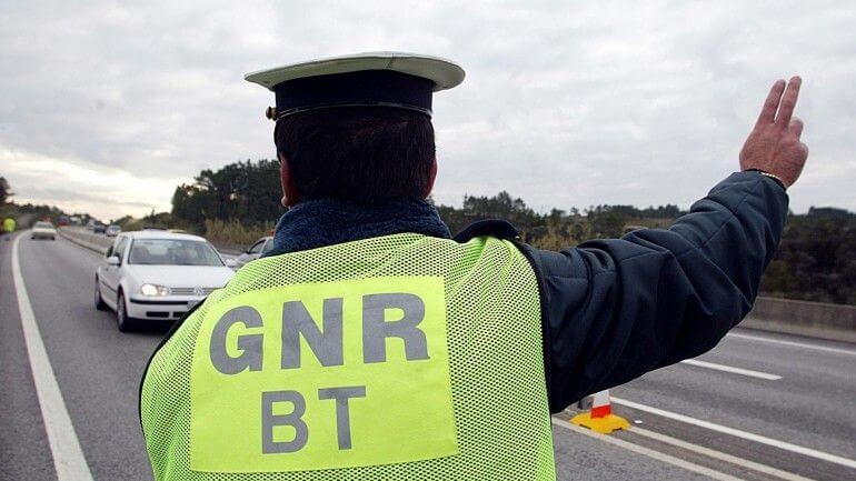 GNR Strasse gesperrt