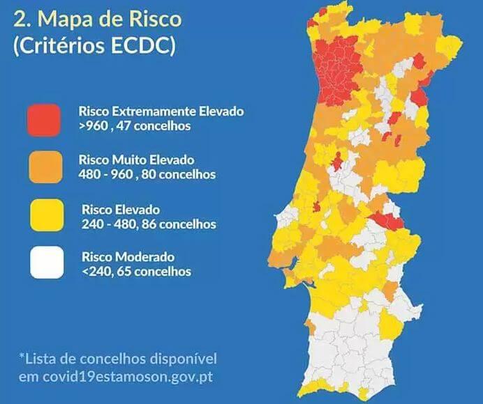 Corona Risiko Karte