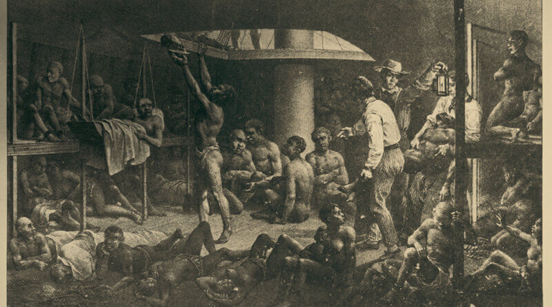 Sklavenmarkt in Lagos