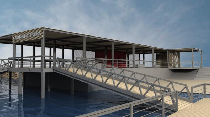 Neues Pier von Tavira
