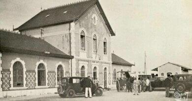 Alter Bahnhof in Lagos