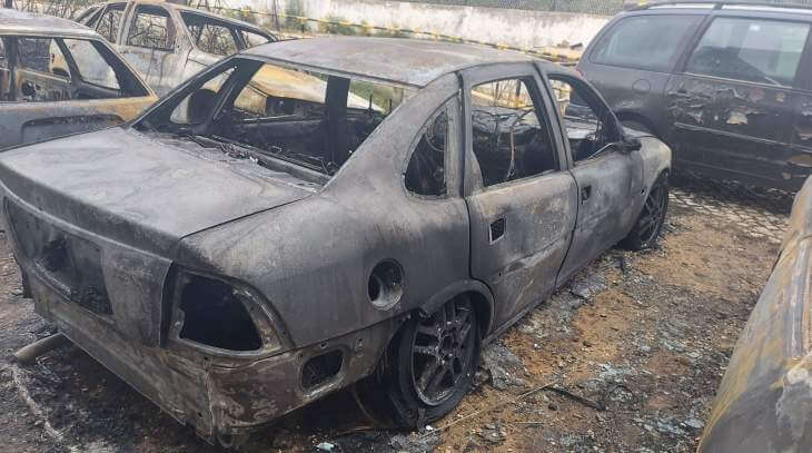 PKW verbrannt
