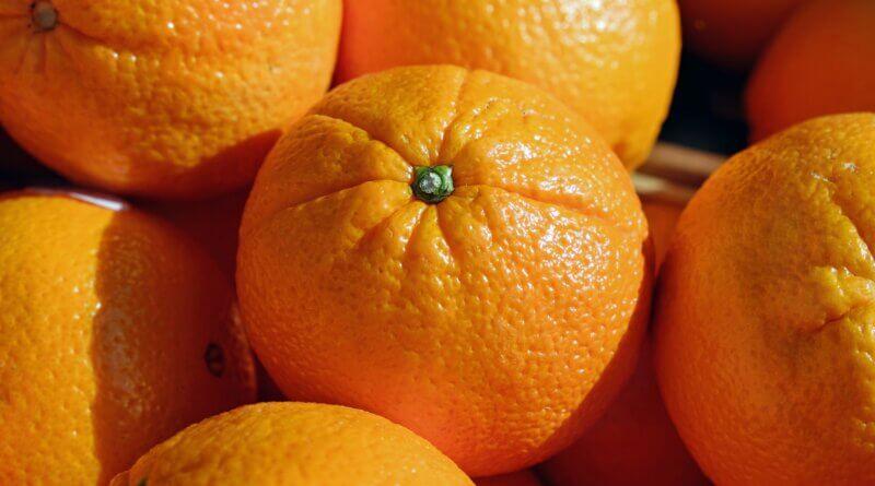 Orangen der Algarve