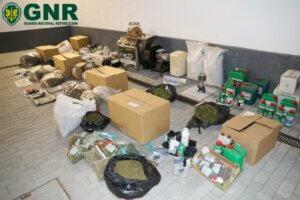 GNR beschlagnahmt Material