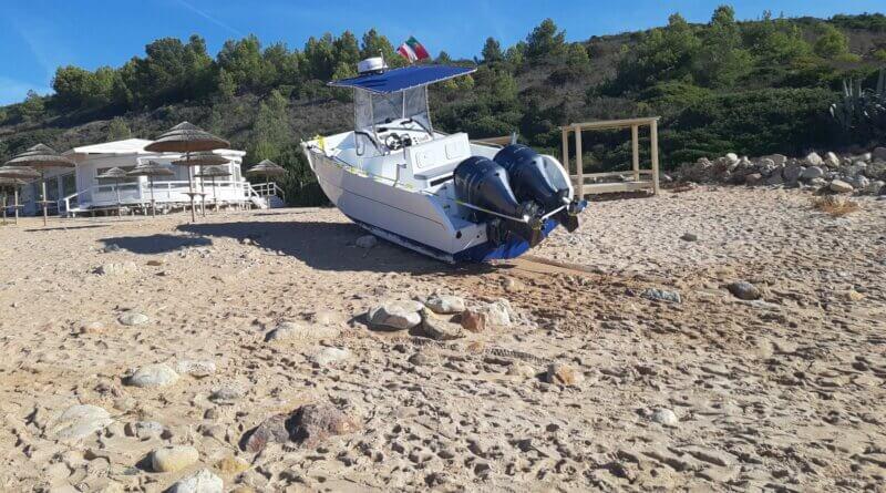 Boot beschlagnahmt
