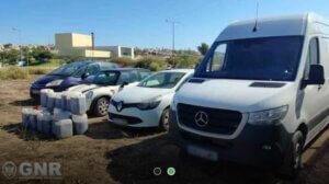 Beschlagnahmte Fahrzeuge