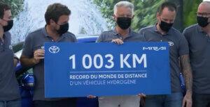 Weltrekord von Toyota